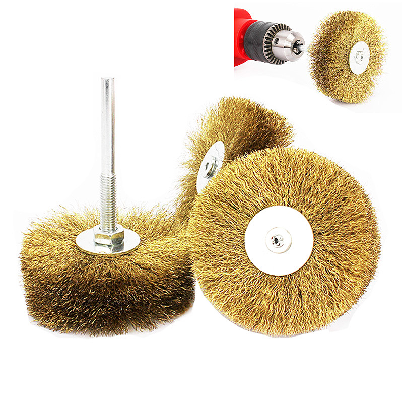 20pcs Nylon Cup Shape Buffing Polishing Wire Wheel Brushes Grinder Rotary Tools