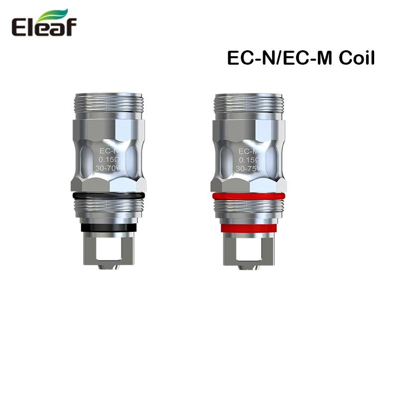 5pcs/Lot Eleaf EC-N/EC-M Coil Head 0.15ohm  Replacement Coil Head For IJust ECM Atomizer / MELO 5 Atomize