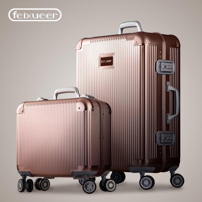 Aliexpress.com : Buy Luxury Full Aluminum Magnesium Alloy Trolley ...