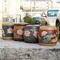 Завод прямой номер подлинный исин Zisha банку руководство куча резервуар для хранения автоаксессуары магазин чай цветок