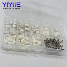 цена на 300pcs PH2.0 2p 3p 4 pin 2.0mm Pitch Terminal Kit / Housing / Pin Header JST Connector Wire Connectors Adaptor PH Kits