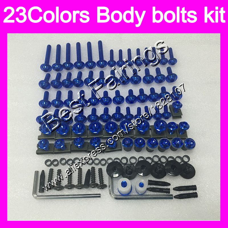 07 08 09 10 11 DUCATI 848 1098 1198 FAIRING BOLTS FASTENERS SCREWS KIT USA