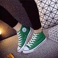 Женская Холст Скейтборд Обувь мужчины женщины любовник кроссовки Классический Высокий Верх Скейтбординг девушки нескользящей Тренинг обувь для ходьбы