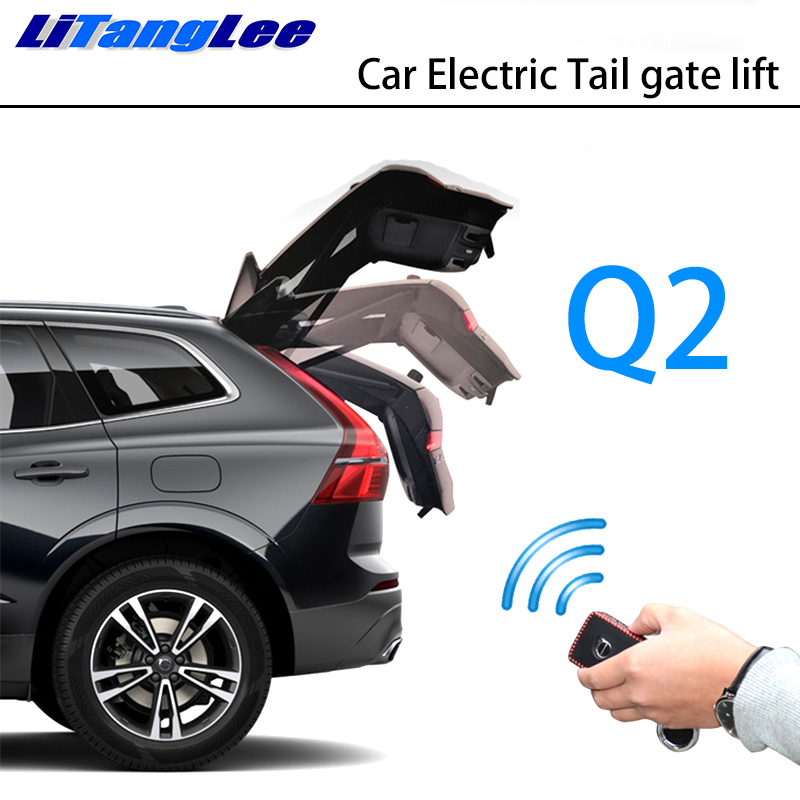 LiTangLee Car Electric Tail Gate Lift Trunk Rear Door Assist System For Audi Q2 2016~2019 Original Car Key Remote Control