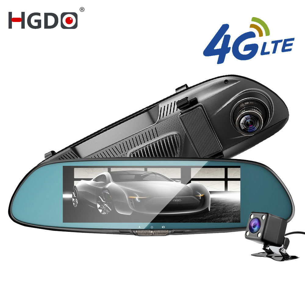 Rearview-Mirror Car-Camera Bluetooth Android Navigation Touch-Screen Wifi Car Dvr 3G/4G