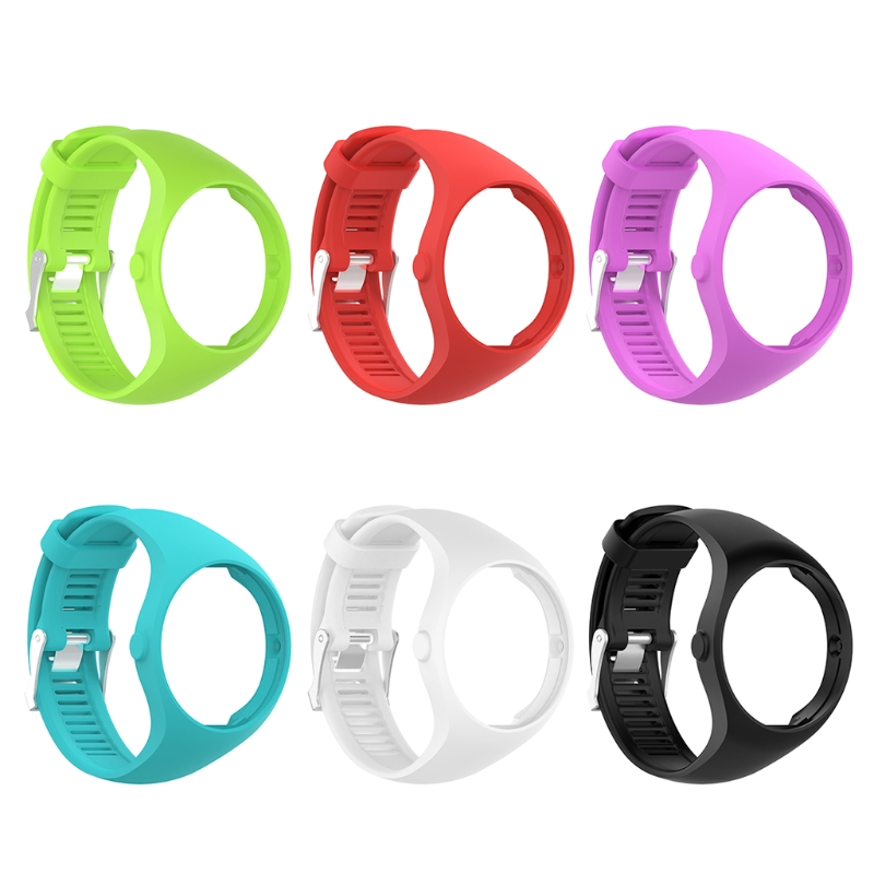 Reloj de silicona Wristband pulsera de reemplazo para Polar M200 GPS reloj