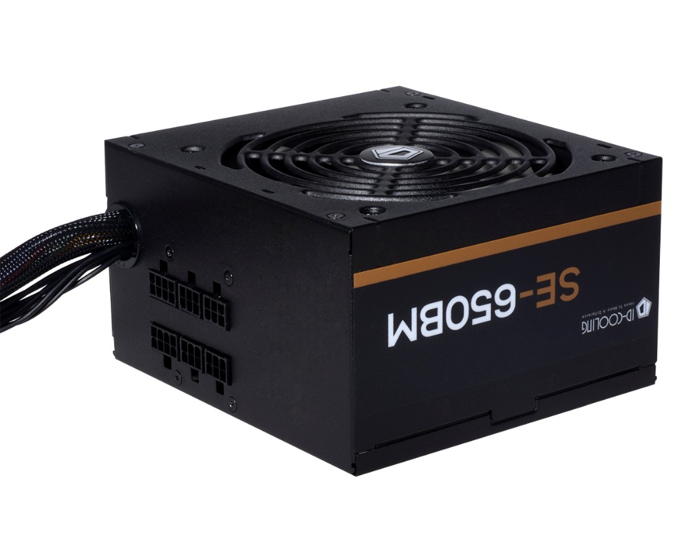 ID-COOLING SE-650BM 80 Plus Bronze, Semi-Modular Design, 650W Real Power computer Desktop PC Power Supplies POWER SUPPLY свитшот alcott fe10674uo c101 page 2
