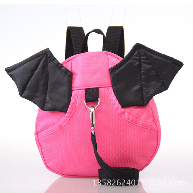 New 3D Baby Dragon Cartoon Children Cute Anti Lost Toddler Safety Harness for Boys Girls Cartoon Bags Kids Harness Backpack