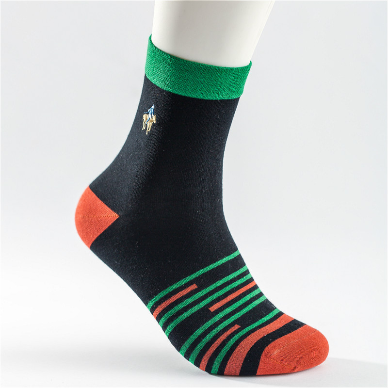 2018 Limited Calcetines Hombre Socks Autumn New Pier Polo Casual Men Socks And Winter Cotton movement Tube Wholesale