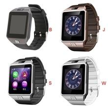 Оптовая DZ09 открытый работает смарт-часы Bluetooth часы сенсорный экран носимых устройств для Android телефон звонок на SIM-мужские часы Брас