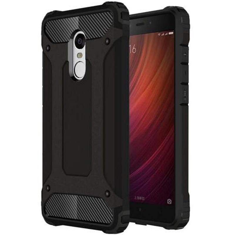 Hybrid-Tough-Case Case Cover Heavy-Duty Redmi Note-4 Shockproof-Shell Xiaomi for Rubber