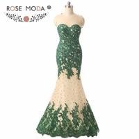 Розовое платье без рукавов с круглым вырезом, зеленое кружевное платье Русалочки для выпускного вечера, платье с открытой спиной, пригласит