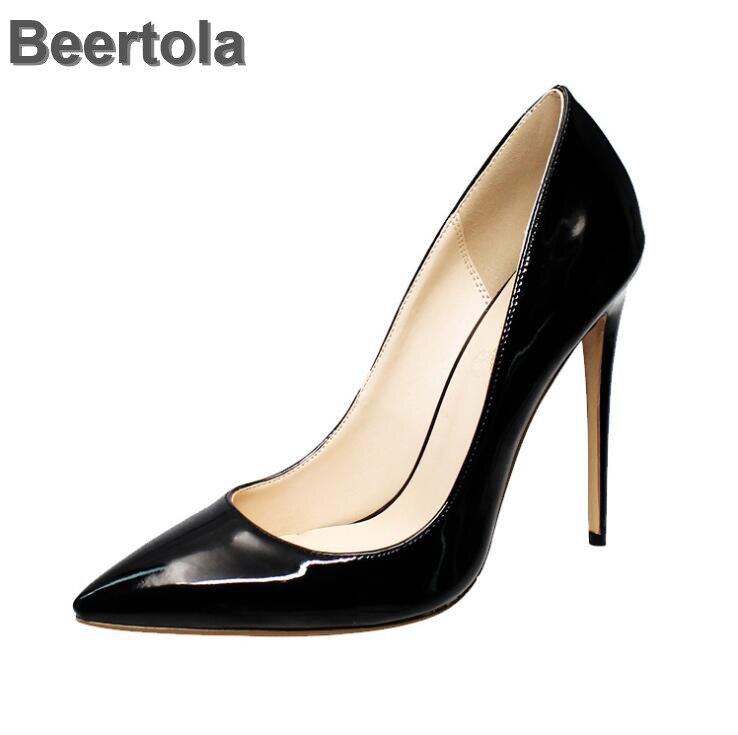 Chaussures Sexy pour mariage femme en gros gladiateur pompes en cuir verni chaussures femmes à talons hauts chaussures de danse grande taille talons aiguilles