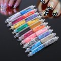 2016 Nuevo 20 Unids Vidrio Mini Botella Nail Art Stickers Tips Manicura de La Decoración de DIY de Accesorios 08WG