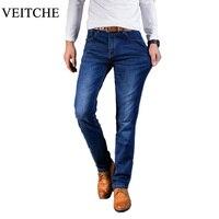 New 2017 Summer Men's Jeans Classics Slim Casual Pencil Pants brief Denim Trousers plus size 28 to 40 Man Long Jeans pants