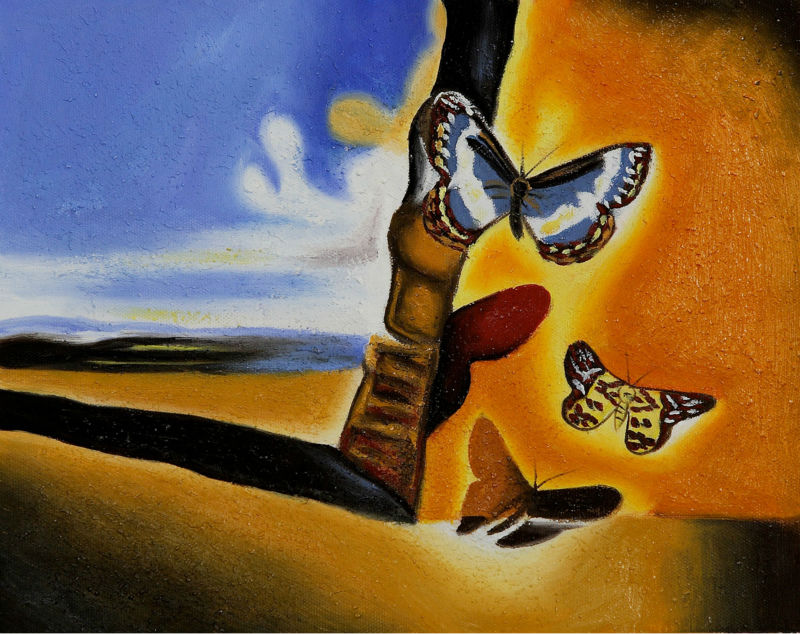 New Reproduction Famous Dali Abstract Oil Paintings On -1641