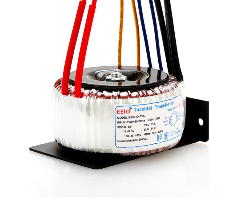 180V-0-180V 0.1A +6.3V 2A +8V 2A tranformer 40VA oroidal transformer copper custom transformer 220V input power transformer180V-0-180V 0.1A +6.3V 2A +8V 2A tranformer 40VA oroidal transformer copper custom transformer 220V input power transformer