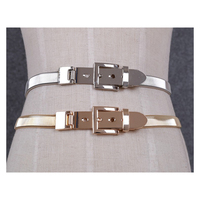 infinity belt. women gold and silver full metal elastic chain belt pin clasp buckle waistband 2017 fashion infinity