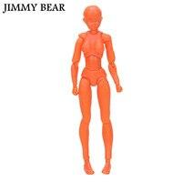 JIMMY BEAR SHF S H Figuarts Body Chan DX SET Orange Color Ver Female Body Model