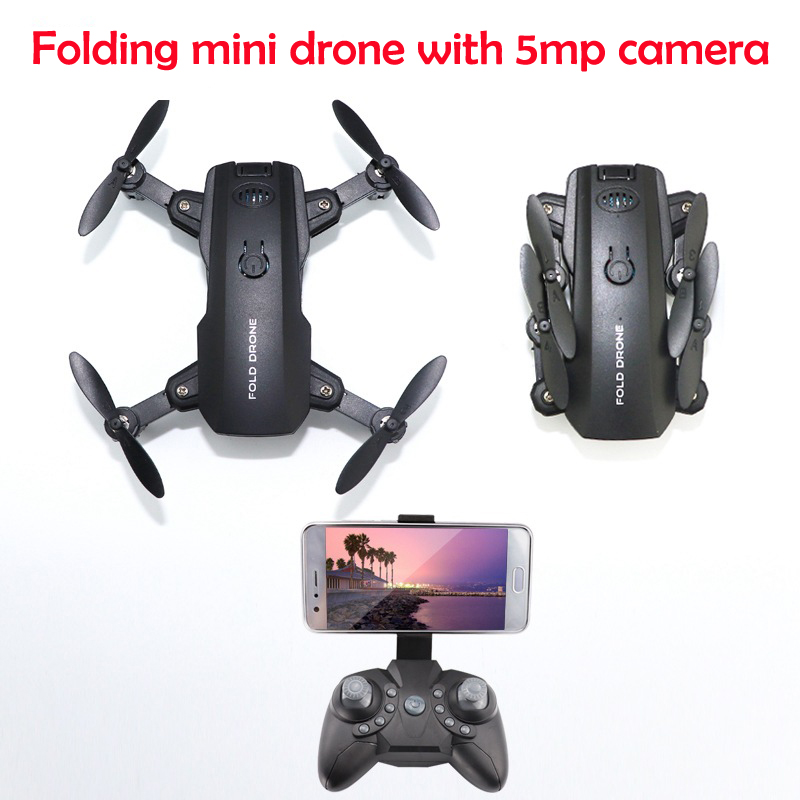 2019 New WIFI FPV 1080p Camera Altitude Hold Extra Mini Drone Foldable Altitude Hold VR RC Quadcopter With 5mp Camera