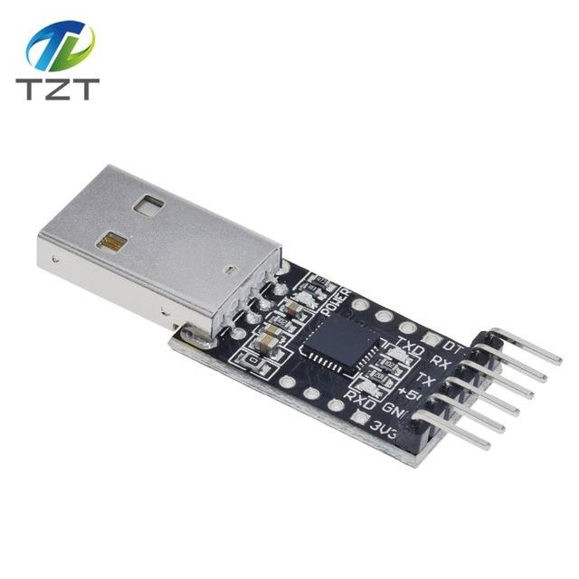 5PIN-CP2102-USB-2-0-a-TTL-UART-m-dulo-6Pin-serie-convertidor-STC-reemplazar-FT232