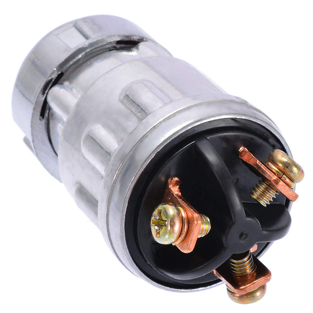 Ignition Switch with 2 Keys Universal For Car Tractor Trailer Car Tractor Ignition Switch Lock Cylinder
