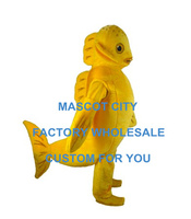 Deluxe Goldfish Mascot Costume Lovely Sea Animals Mascotte Outfit Suit Fancy Dress Party Carnival Advertising Costume SW694