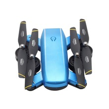 SG700 2.4G RC Drone Foldable Quadcopter with 720P HD Wifi FPV Camera Optical Flow Positioning Altitude Hold Headless Mode Blue