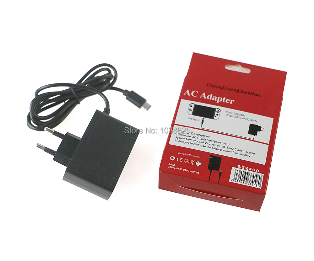 AC Wall Adapter Charger for Nintend Switch NS Game Console Charger Adapter Charging Power Supply Home ChengChengDianWan