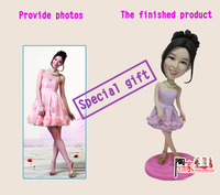 Toys New Arrival Top Fashion Special Gift Birthday Bride And Groom Wedding Figurine Sculpture From Your Photos Unisex
