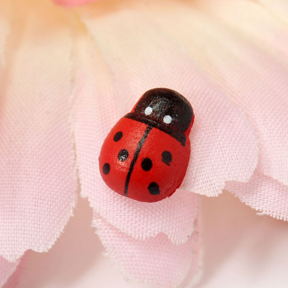 New Real Resin Decoden Garden Decoration Mini Ladybug Garden Ornaments  Scenery Craft For Plant Pot Decor 10pcs In Figurines U0026 Miniatures From Home  U0026 Garden ...