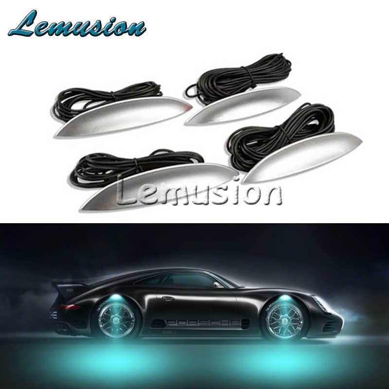 1 Set Voiture roue LED lumières voiture LED lampe d'ambiance Pour Mazda 3 6 CX-5 CX-7 Opel Astra H J G Insignes Mokka Vectra C Zafira Corsa