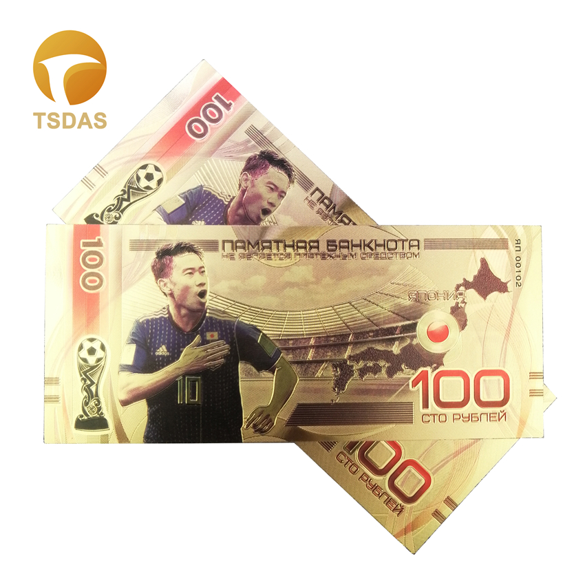 Gold Foil $10000 Plastic US Dollars Coin Money Commemorative Banknote Craft Gift