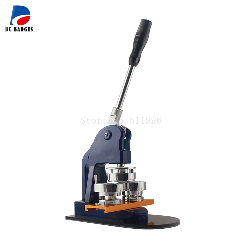 56mm New button press machine making Tin badge 2016 new machine manual press badge making machine factory direct sale