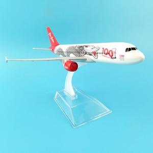 Image 5 - Модель самолета JASON TUTU 16 см, модель самолета Air Asia, аэробус 320, модель самолета 1:400, Литые металлические самолеты, самолеты, игрушка в подарок