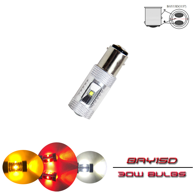 2X Car Ceramic LED T10 Light W5W Signal Replacement Reverse Lamp White 50000hr
