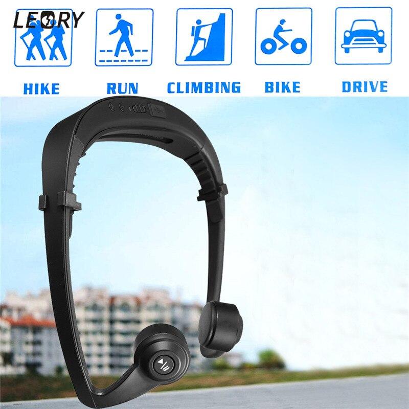 Impermeabile Conduzione Ossea Cuffie V4.1 Professionale Senza Fili di Bluetooth Auricolare Sport Corsa Ciclismo Auricolare a Mani Libere