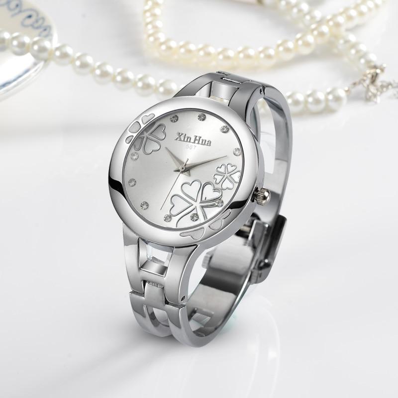 Women's Watches Fashion Flowers Bracelet Watch Women