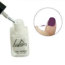 White Peel Off Nail Liquid Art Latex Tape Easy To Clean Nail Polish Finger Skin Protected Liquid Palisade Base Coat Care 6ml
