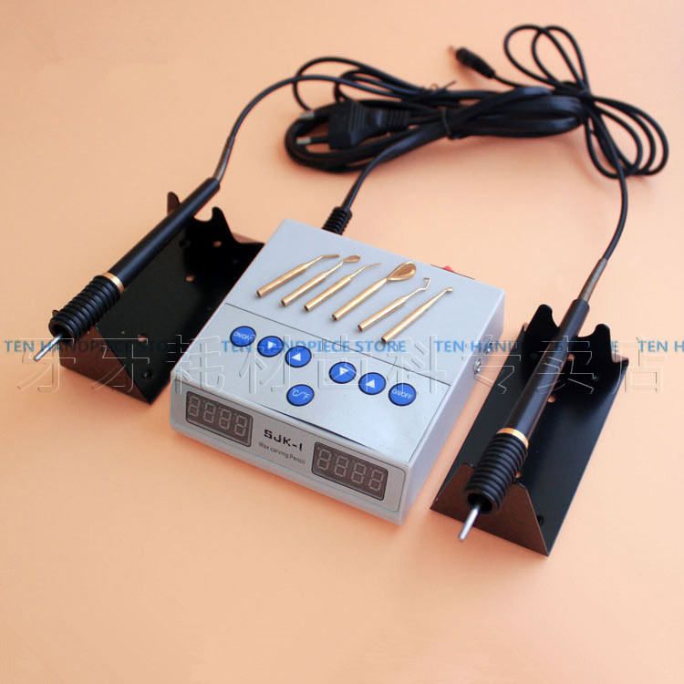 2018 good quality Dental Lab Electric Thin Waxer Carving knife Machine Double Pen 6 Wax Tip Pot Dental Lab blessfun dental lab electric thin waxer carving knife machine double pen 6 wax tip pot dental lab new
