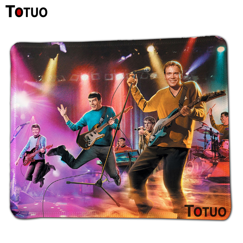 Special offer sale star trek Fashion Gaming Computer Mouse Mat Desktop Pad Mousepads Soft Durable Silicone Mouse Pads