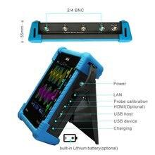 Micsigแท็บเล็ตดิจิตอลOscilloscope TO1104 100MHz 4CH 28Mpts Automotive Diagnostic Oscilloscopeหน้าจอสัมผัสมือถือOscilloscope