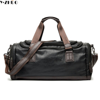 leather men travel bag vintage handbags tote mans shoulder luggage bag bolsa feminina leather man bag free shipping