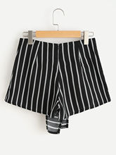 Short Sexy Striped Bowknot SL01