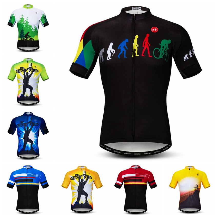 Cycling Jersey men Bike Jersey 2018 road MTB bicycle clothes summer sportswear maillot Racing top Ropa Ciclismo shirt breathable