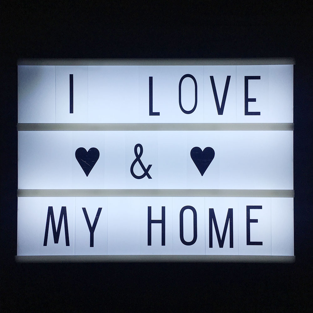 все цены на 3 Line Cinematic Cinema LED Lightbox with Various Letters LED Night Lamp Power For DIY Home Decoration Lighting A4 sizenew