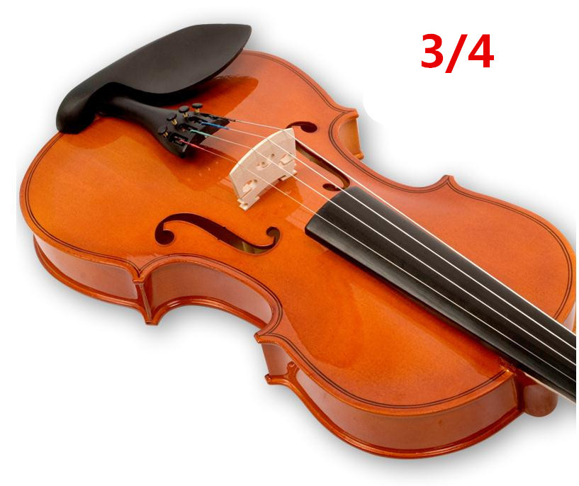V104 High quality Fir violin 3/4 violin handcraft violino Musical Instruments Free shipping high quality white color violin 1 4 violin handcraft violino musical instruments