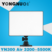 YONGNUO YN300 Air Ultra Thin On Camera Led Video Light Pad Panel for Canon Nikon Sony Panasonic DSLR & Camcorder
