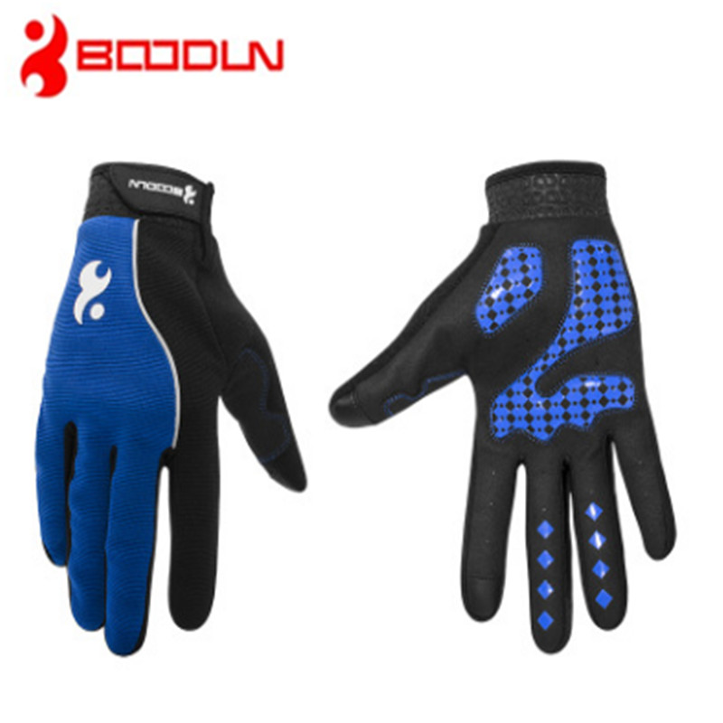 BOODUN Outdoor gloves New pattern Touch screen Silica gel Non-slip Shock absorption Ventilation motion Riding Comfortable