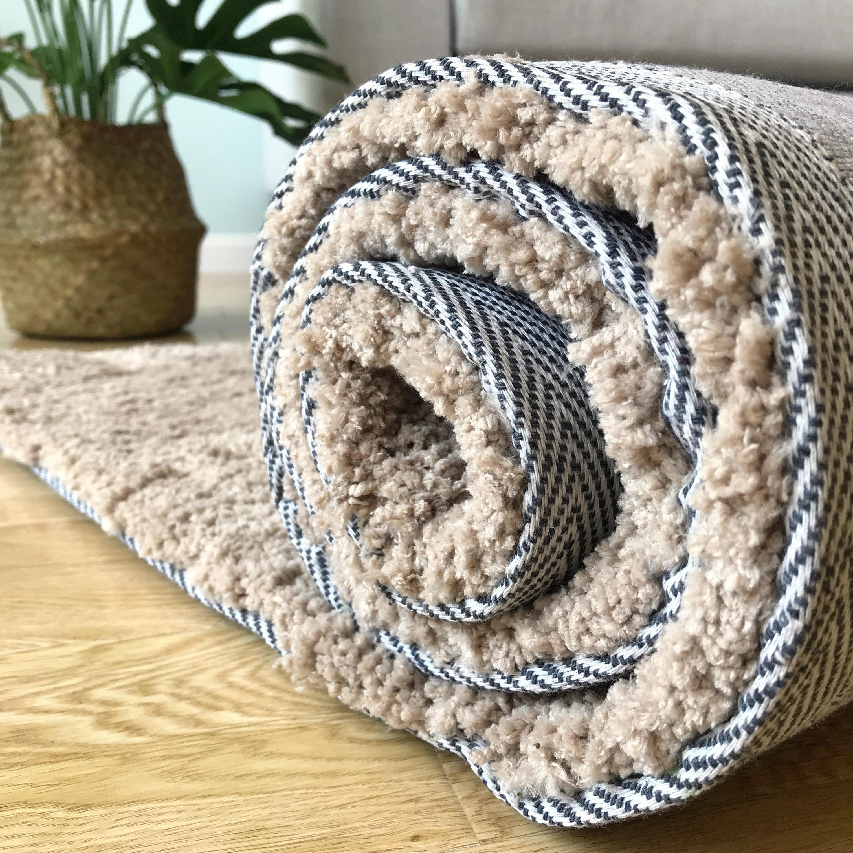 Coton épaississement chameau salon tapis chambre foyer chevet couverture couleur unie style japonais simple coussin canapé table